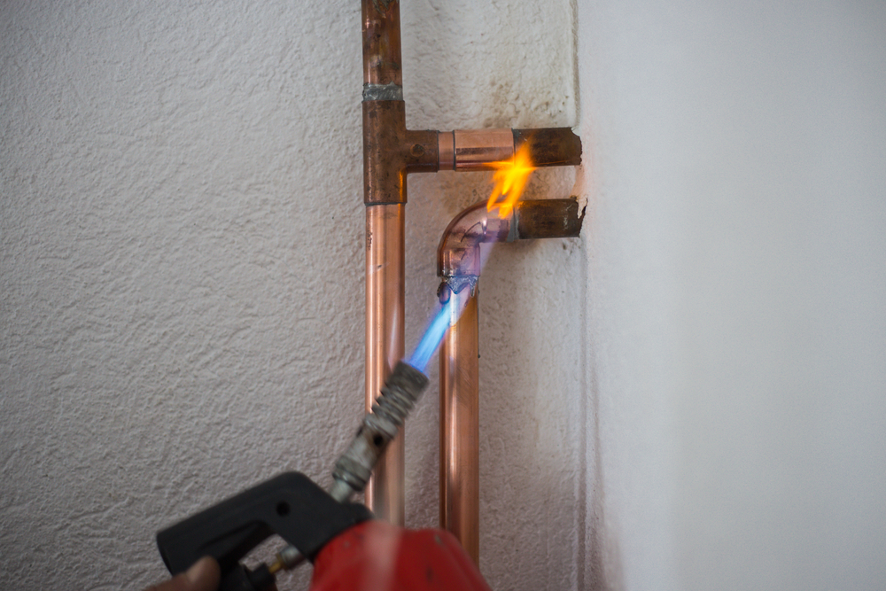 leidingen solderen