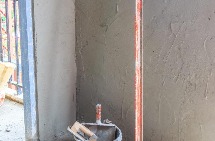 krimpnaden stucwerk