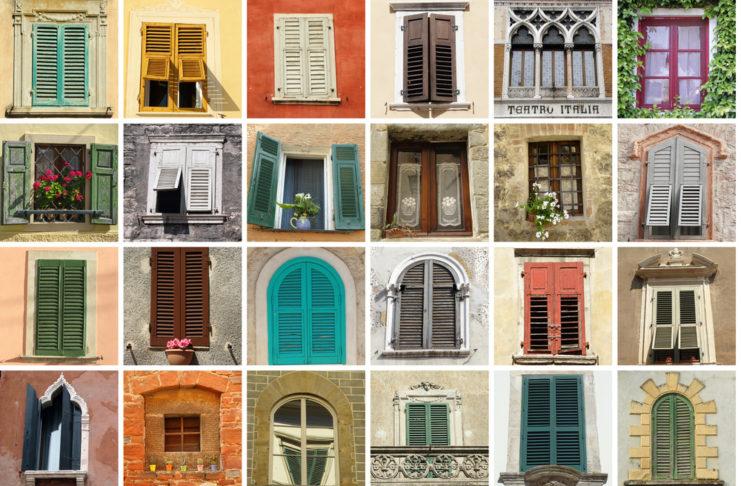 ramen met vensterbank