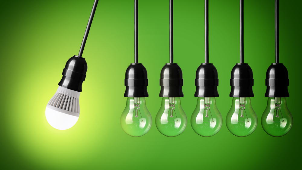 led verlichting versus gloeilampen