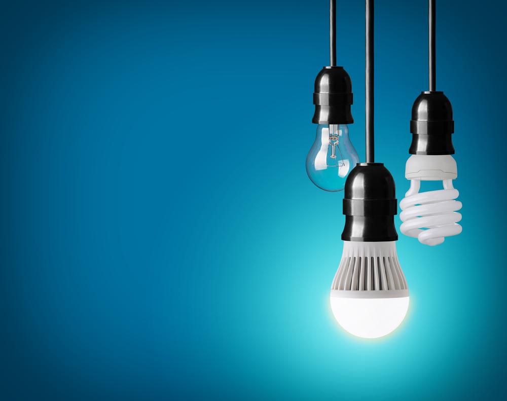 led lamp en halogeenlamp